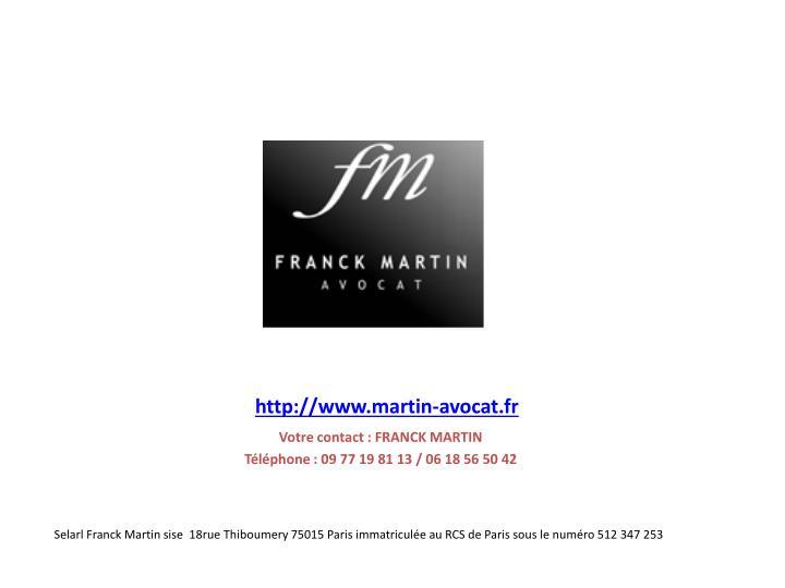 http://www.martin-avocat.fr