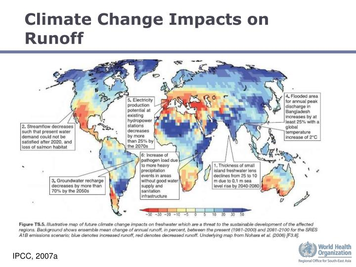 Climate Change Impacts on Runoff