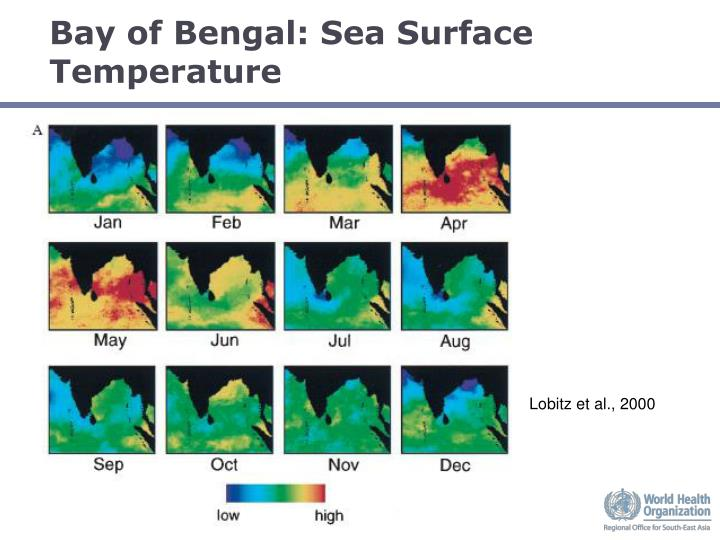 Bay of Bengal: Sea Surface Temperature