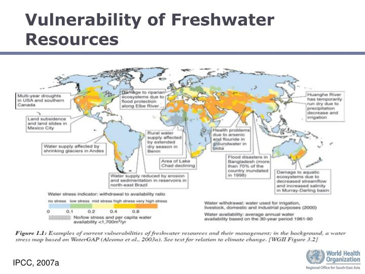Vulnerability of Freshwater Resources