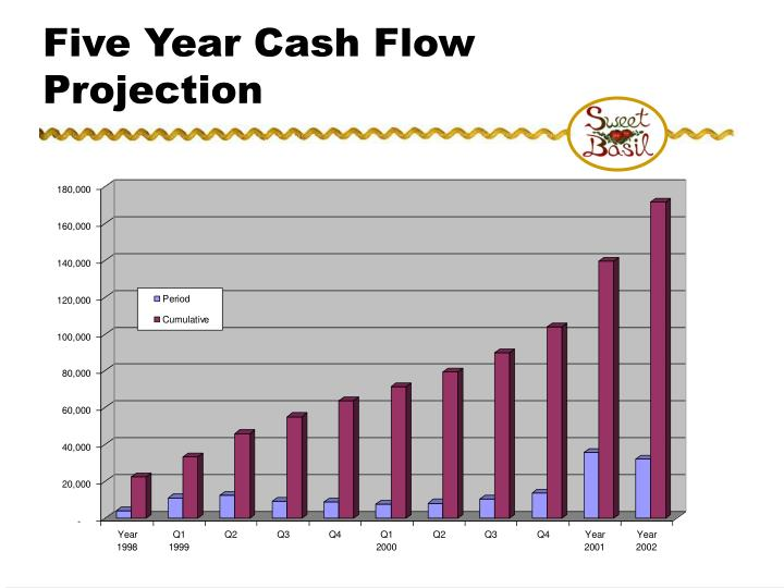 Five Year Cash Flow Projection