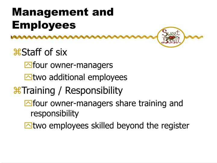 Management and Employees