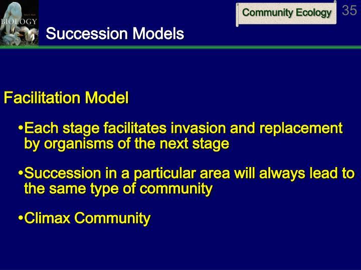 Succession Models