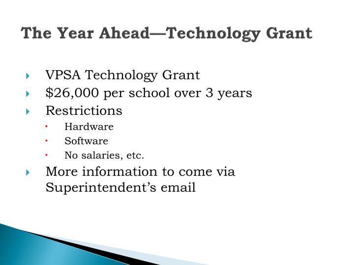 The Year Ahead—Technology Grant
