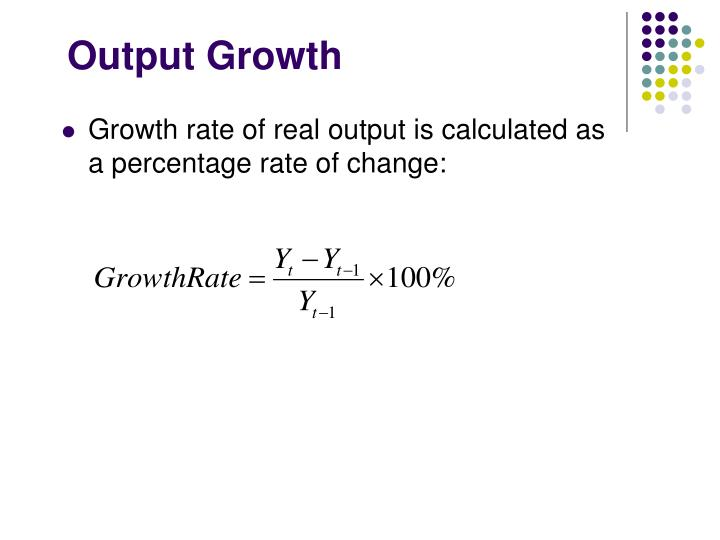 Output Growth