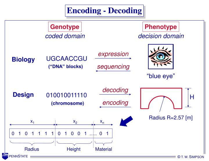 Encoding - Decoding