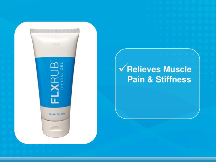 Relieves Muscle Pain & Stiffness