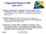 a very brief history of am part 4 of 4