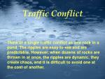 conflicts cont d