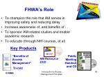 fhwa s role