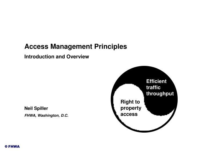 Access Management Principles