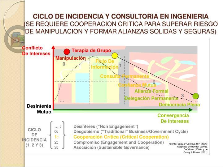 CICLO DE INCIDENCIA Y CONSULTORIA EN INGENIERIA