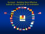 eurojust building more effective judicial co operation co ordination
