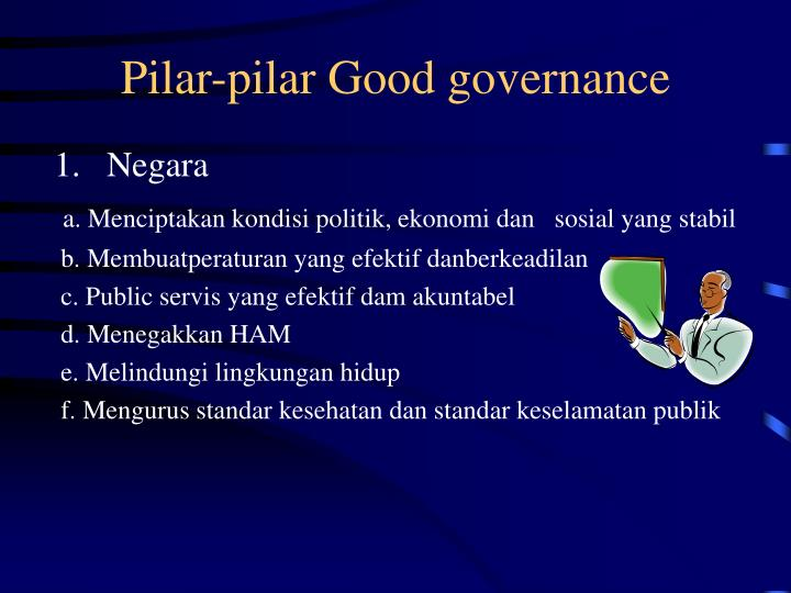Pilar-pilar Good governance