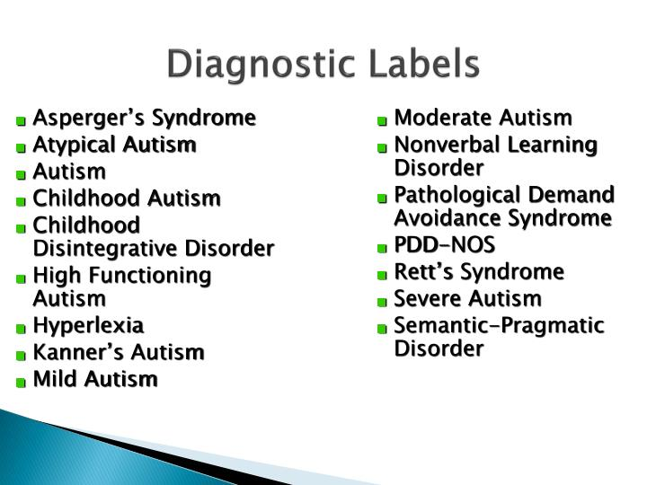 Diagnostic Labels