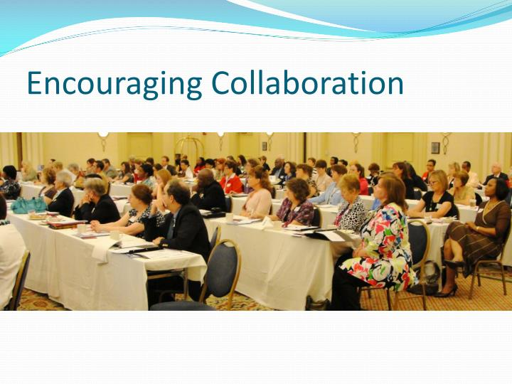 Encouraging Collaboration