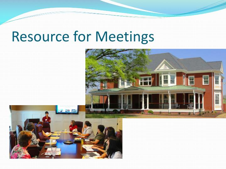 Resource for Meetings