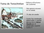 toma de tenochtitlan