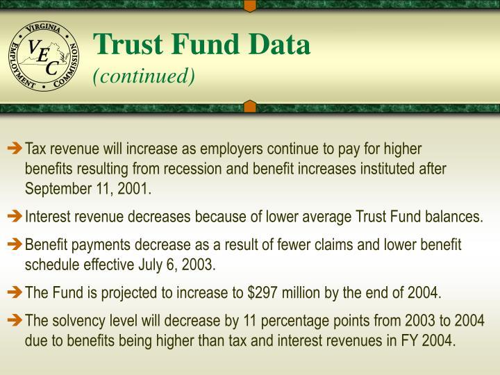 Trust Fund Data