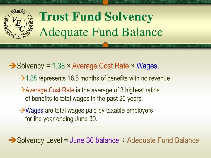 Trust Fund Solvency
