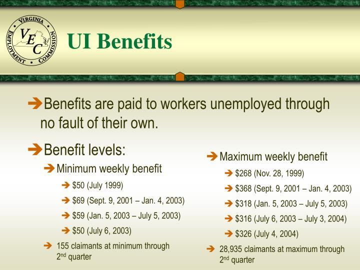 UI Benefits
