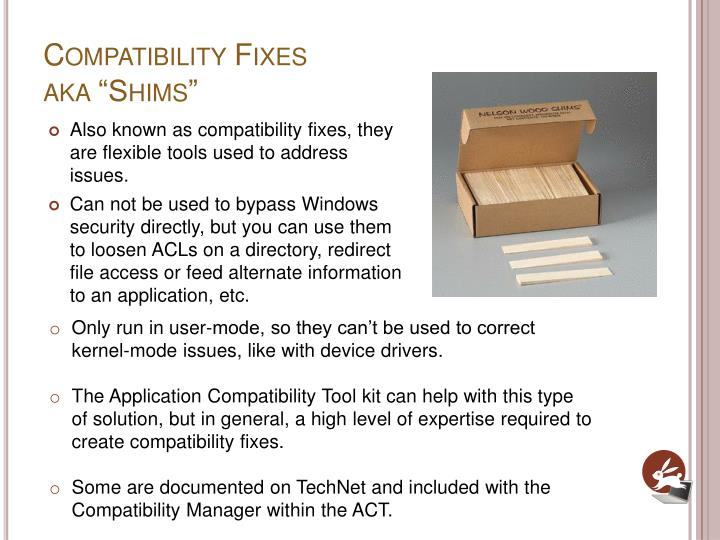 Compatibility Fixes