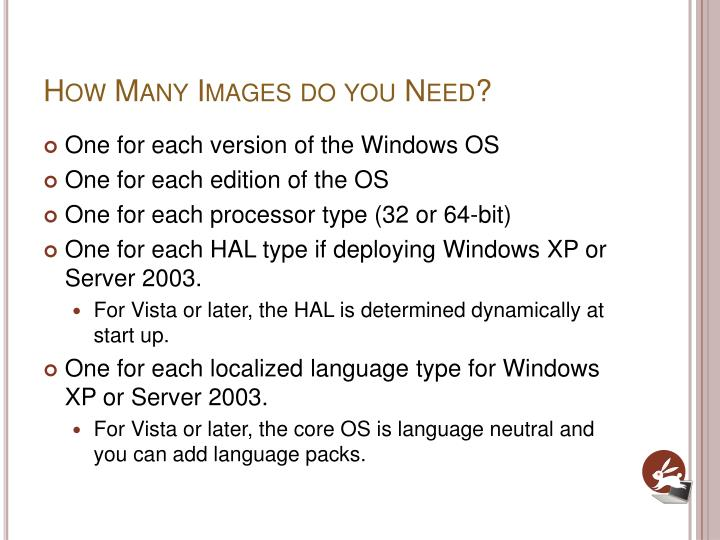How Many Images do you Need?
