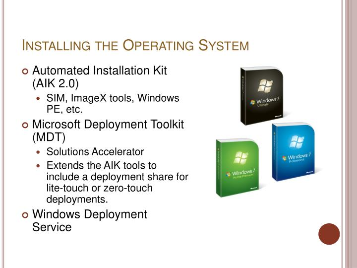 Installing the Operating System