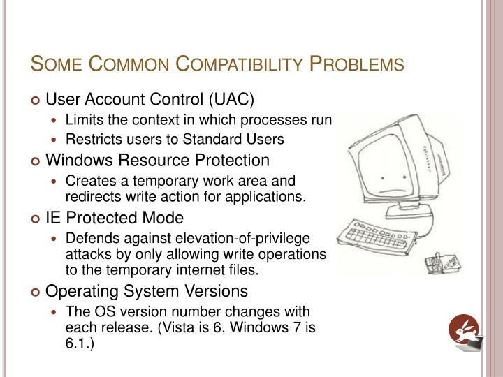 Some Common Compatibility Problems
