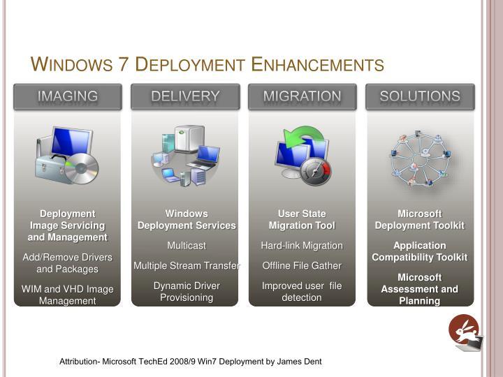 Windows 7 Deployment Enhancements