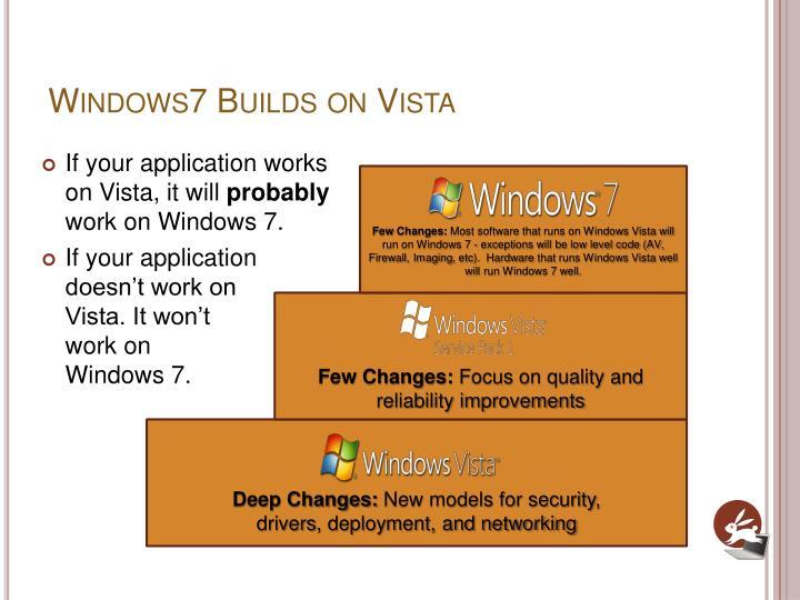 Windows7 Builds on Vista