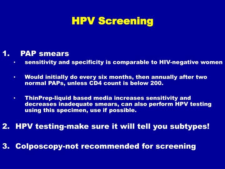 HPV Screening