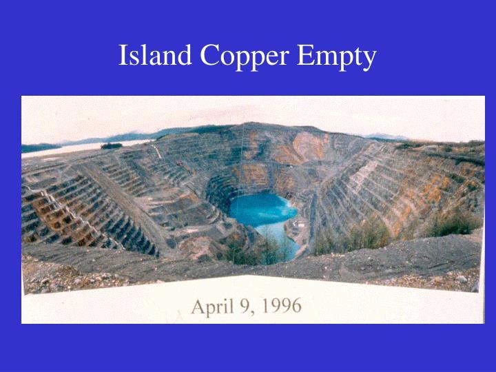 Island Copper Empty