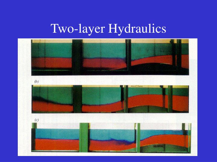Two-layer Hydraulics