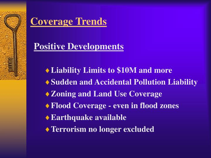 Coverage Trends