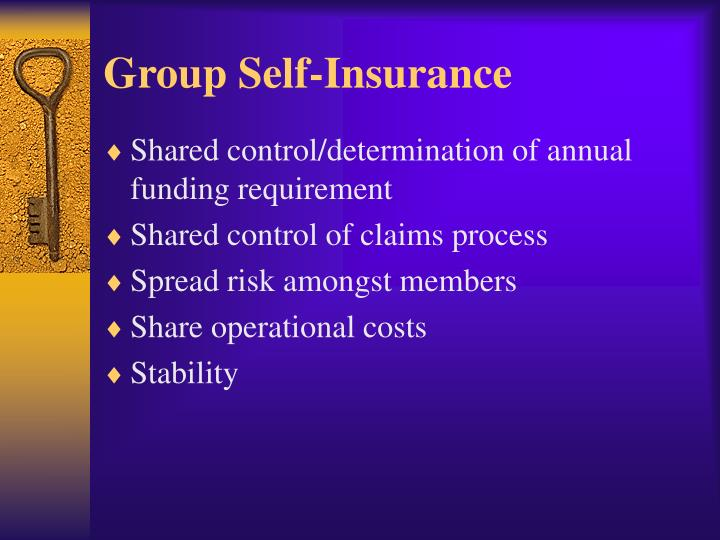 Group Self-Insurance