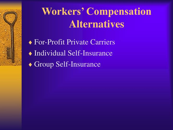 Workers' Compensation Alternatives