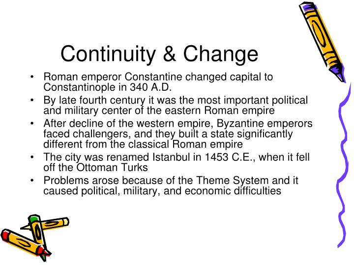 Continuity & Change