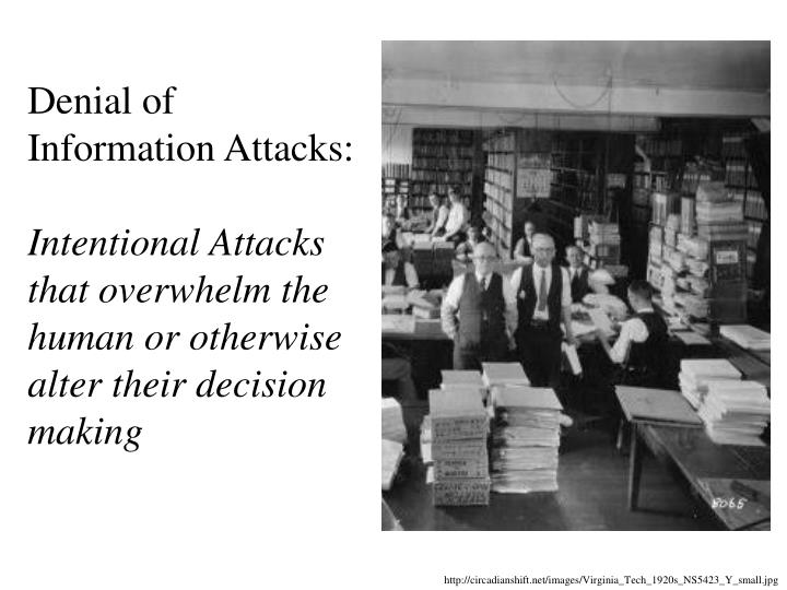 Denial of Information Attacks: