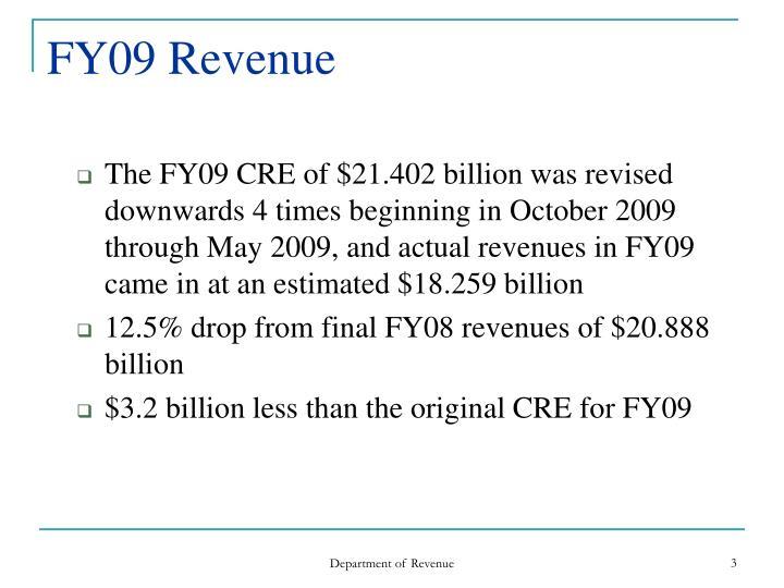 FY09 Revenue