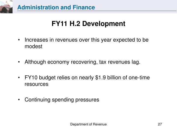 FY11 H.2 Development