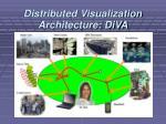 distributed visualization architecture diva