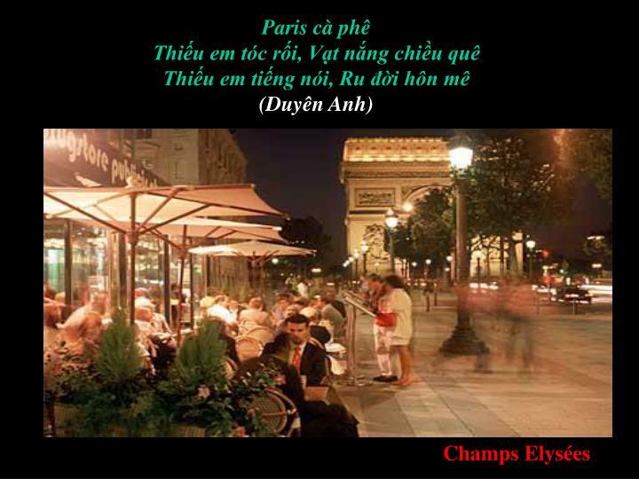 Paris cà phê