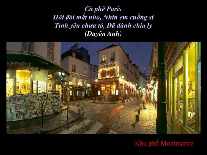Cà phê Paris