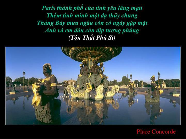 Paris thành phố của tình yêu lãng mạn