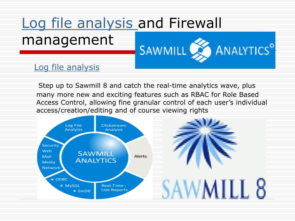 Log file analysis