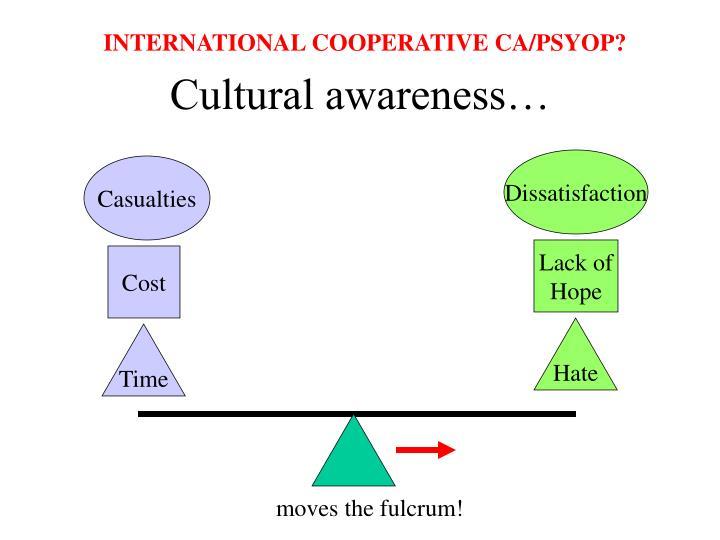 INTERNATIONAL COOPERATIVE CA/PSYOP?