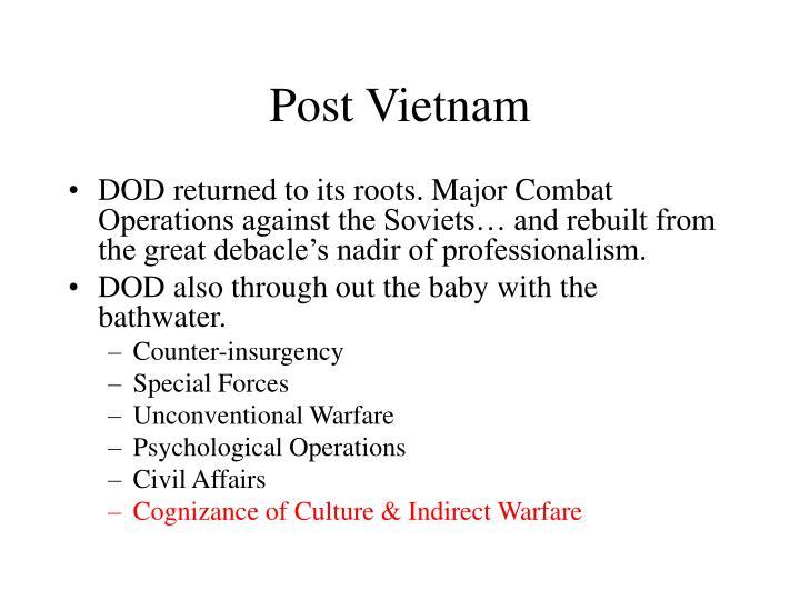Post Vietnam