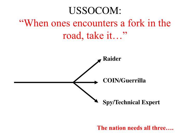 USSOCOM: