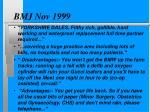 bmj nov 1999